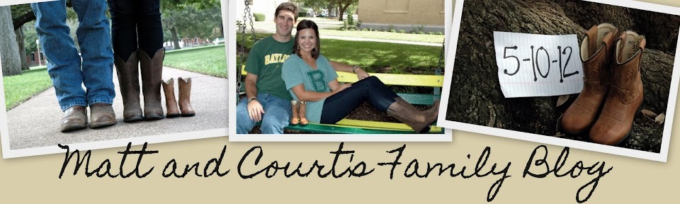 Matt and Court's Family Blog