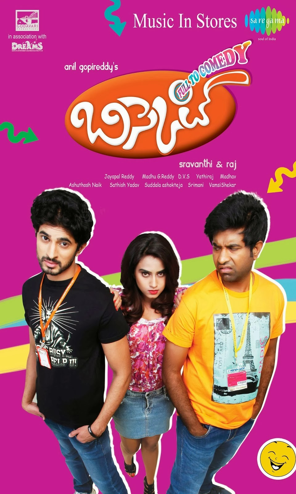 Watch Bisket (2014) Telugu ScamRip Full Movie Watch Online For Free Download