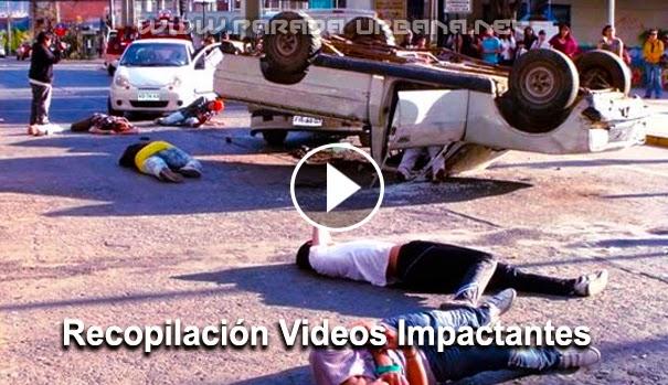 VIDEO IMPACTANTE - Recopilacion de accidentes impactantes, 6ta. parte