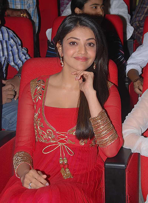 kajal agarwal at businessman audio launch, kajal new actress pics