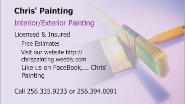 Chris' Painting