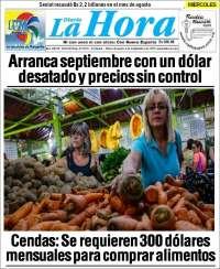PRIMERA PAGINA DE LA HORA DE MARGARITA