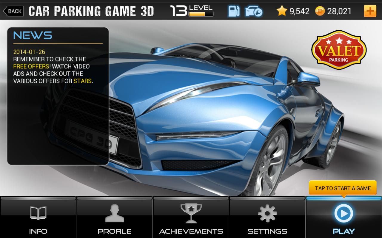 Car Parking Game 3D v1.00.006 [Unlimited Stars/Coins] MOD