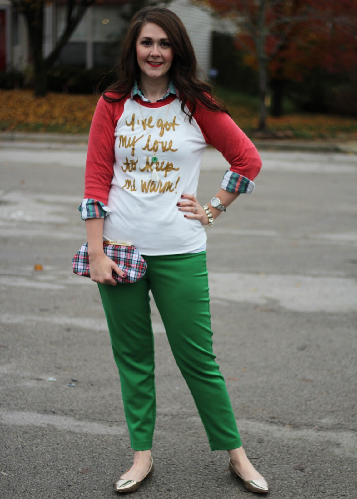 Christmas dress casual - This Is The Type Of Outfit I D Wear To A Casual Christmas Party Or On Christmas Eve I Always Wear A Fun Graphic Tee On Christmas Eve
