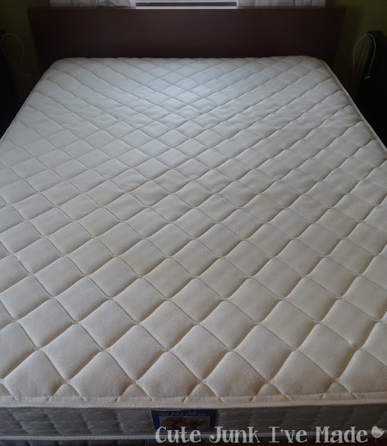 Spring Cleaning:  The Bedrooms - Mattress Before