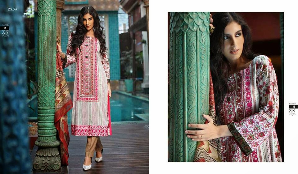Kalyan designer beautiful summer lawn collection