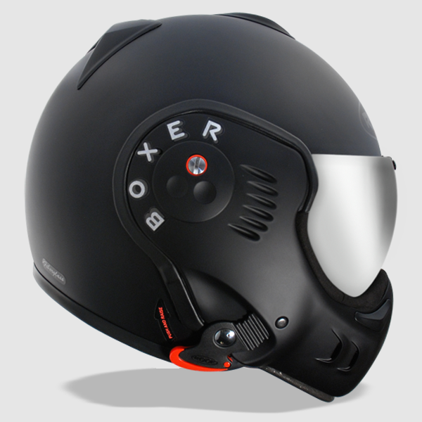 Roof Boxer V8 Black Shadow Helmet Way2speed