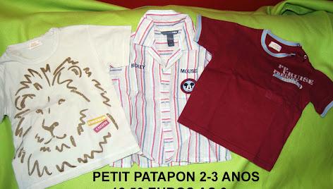 PETIT PATAPON 3€ CADA