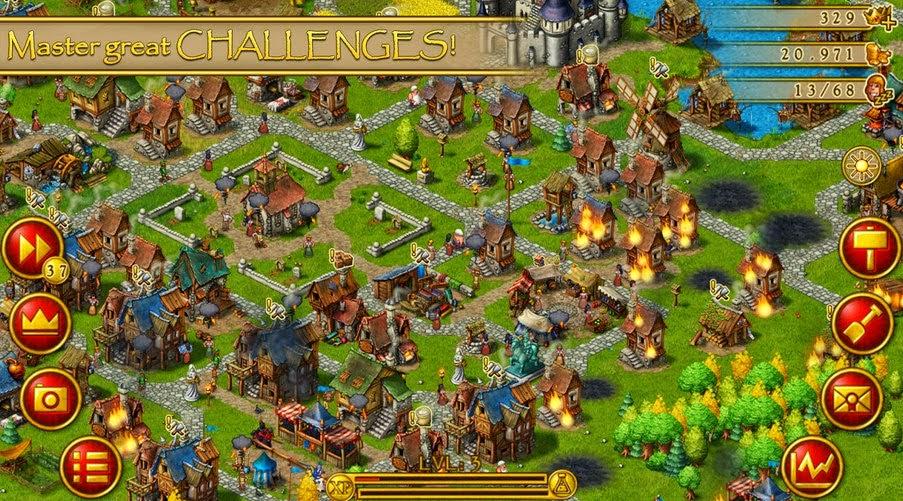 Townsmen Premium full apk game