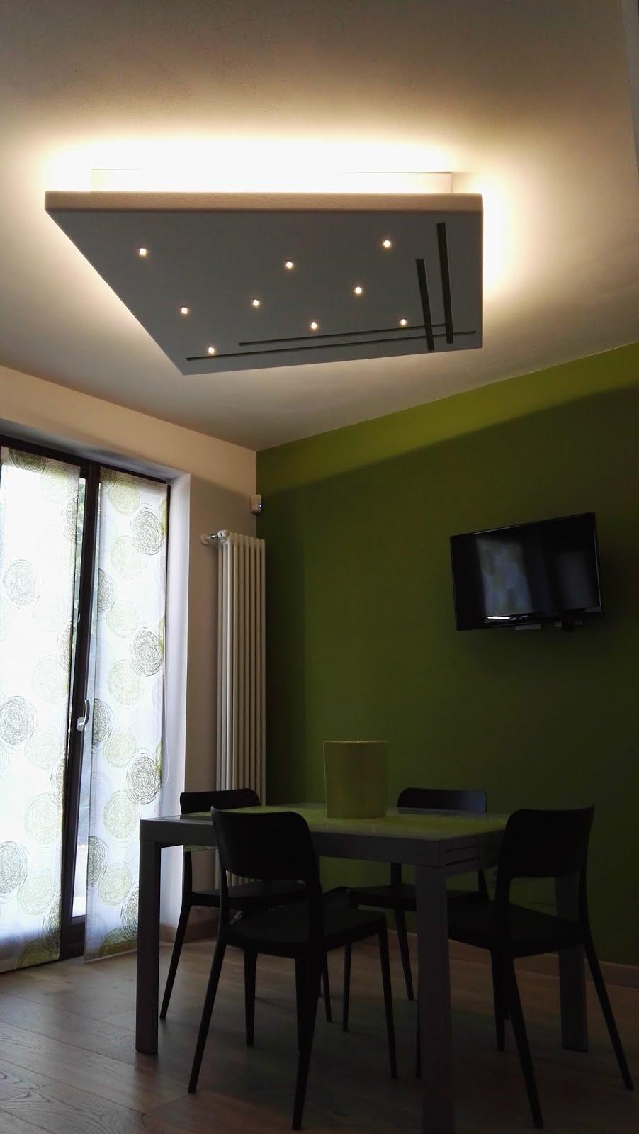Illuminazione led casa lampadari a led di design forme di - Lampadari a led per casa ...