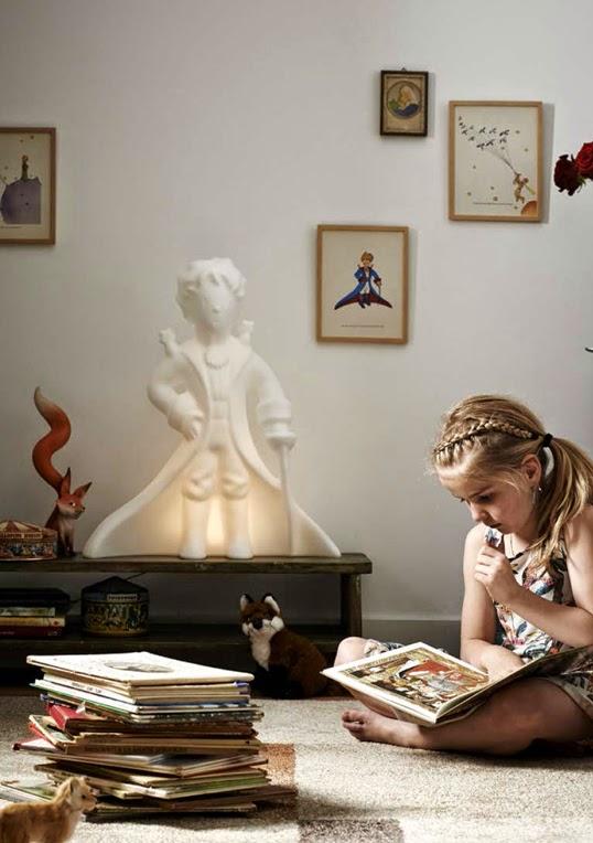 星の王子様のランプで子供部屋を可愛くアレンジ