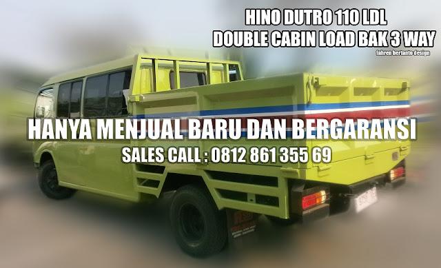 Hino Dutro 110 LDL Truck Bus Tambang Load Bak