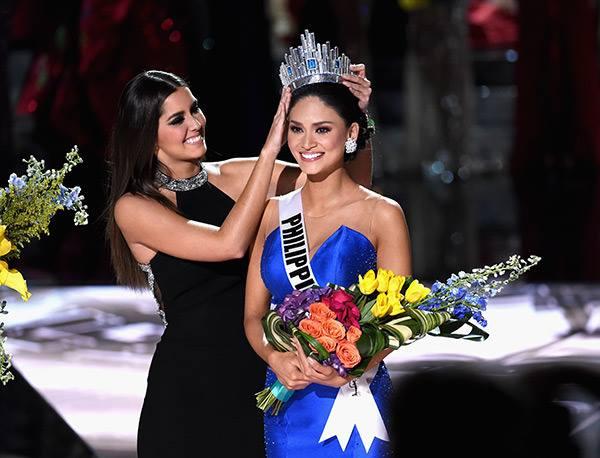 Paulina Vega y la Miss Universo 2016.