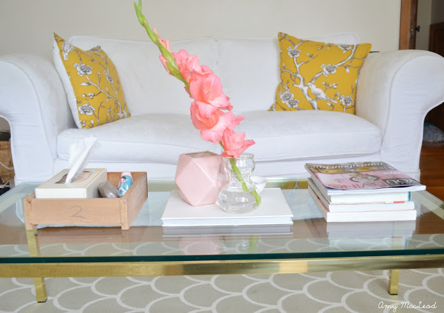 How to style a coffee table, by Amy MacLeod