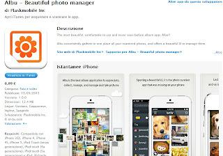 App iphone immagini foto facebook twitter