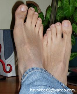 Barefoot In Jeans Or Flip Flops