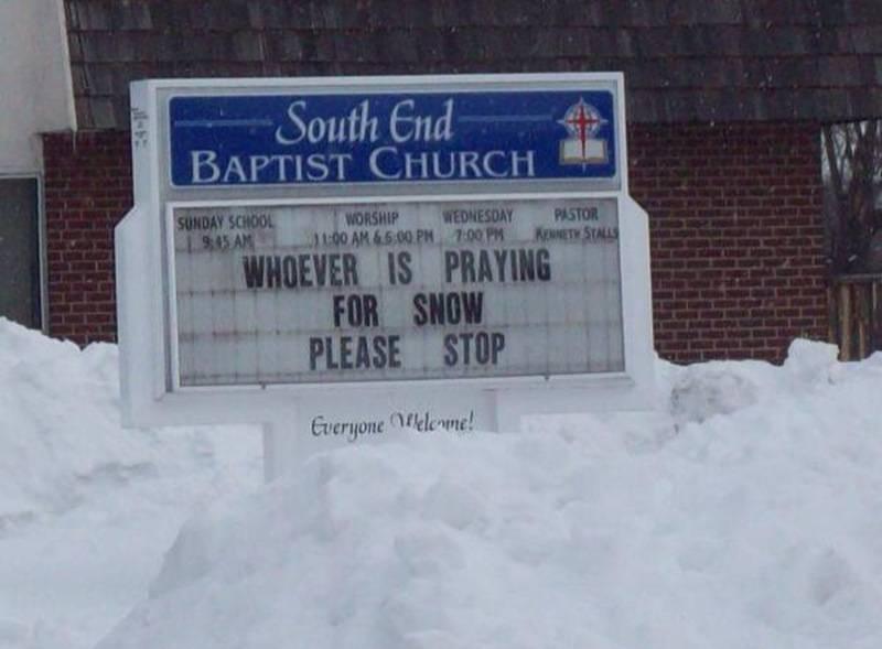 Mormon411: Funny Religious Signs...
