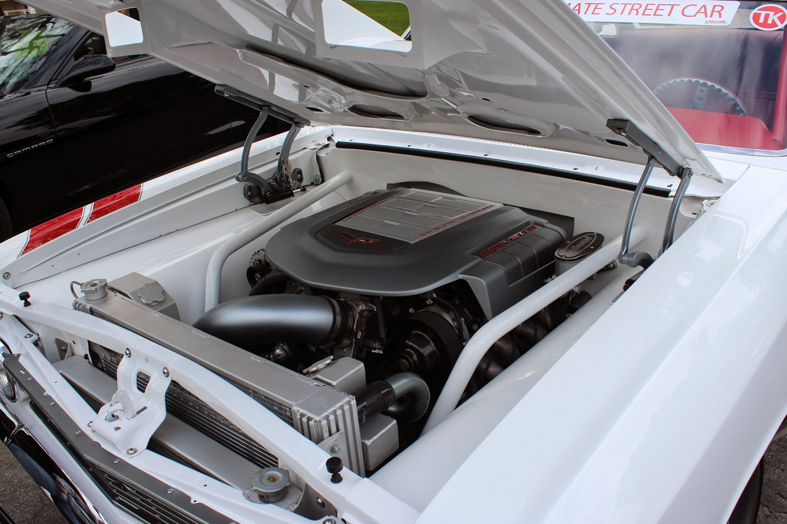 Covering Classic Cars OReilly Auto Parts Street Machine - Custom under car hood