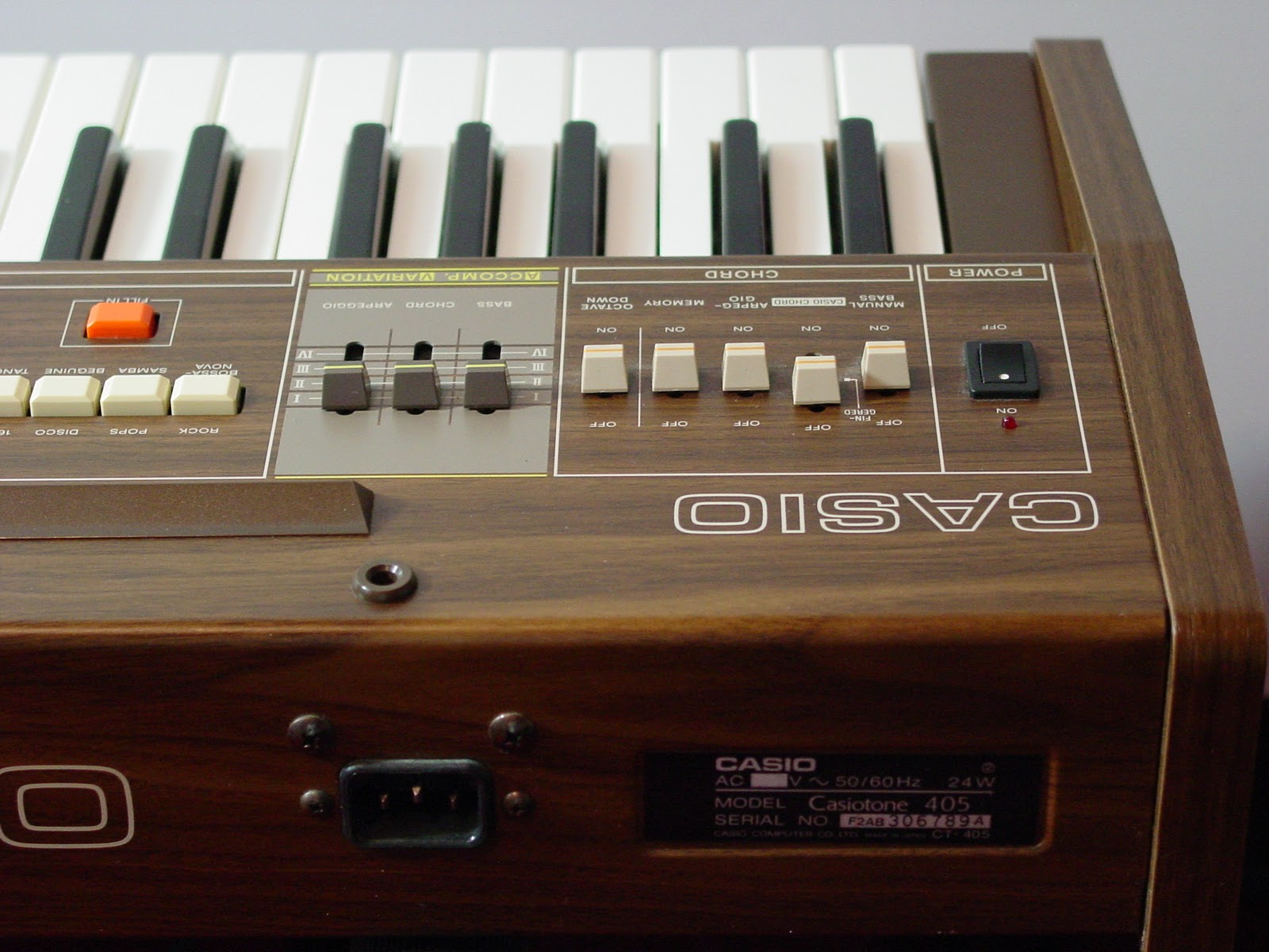 SolidStateCollective: Casio Synthesizer - Casiotone 405 ...