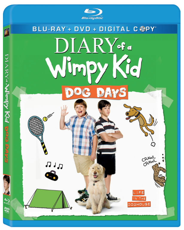 Blu-ray Review - Diary of a Wimpy Kid: Dog Days - Hollywood the ...