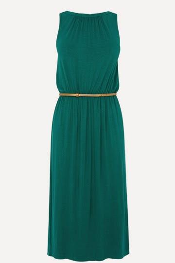 oasis green dress