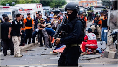 Video Tragedi Bom Sarinah Thamrin Jakarta