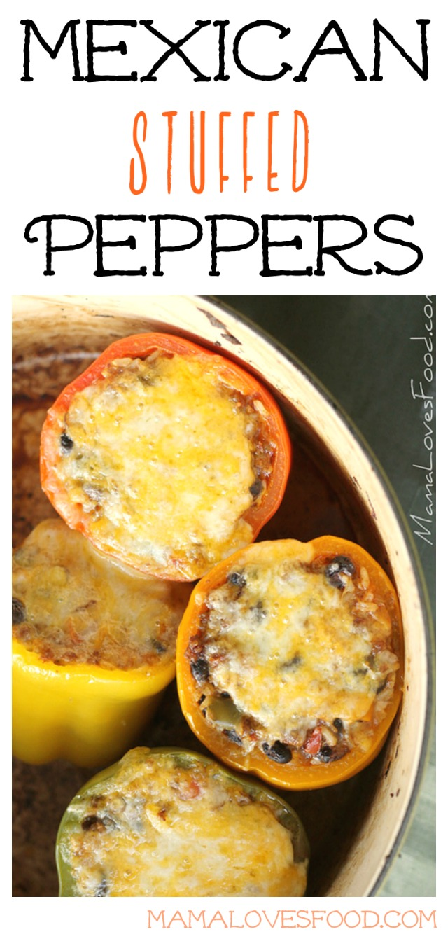 Mexican Stuffed Peppers from Mama Loves Food