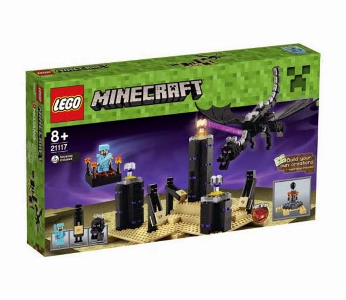 TOYS : JUGUETES - LEGO Minecraft  21117 El Dragón Ender | The Ender Dragon  Producto Oficial 2014 | A partir de 8 años