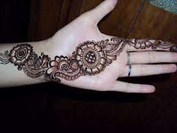 Easy Mehandi Design