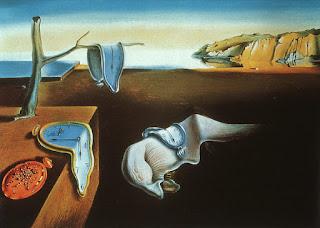 Salvador Dali, Trwalosc pamieci (Cieknace zegary)