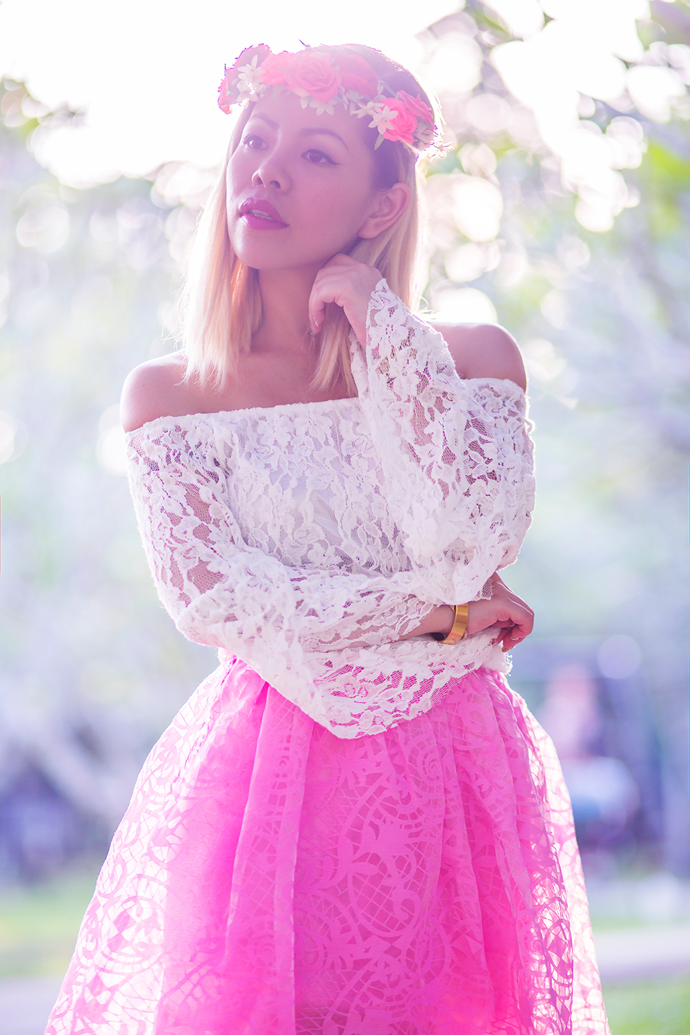 Crystal Phuong- Singapore Fashion Blog- Beautiful portrait in the golden hour