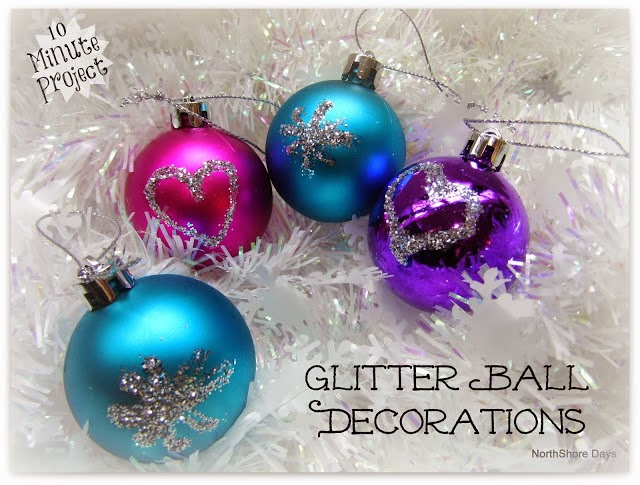 Glitter Ball Decorations