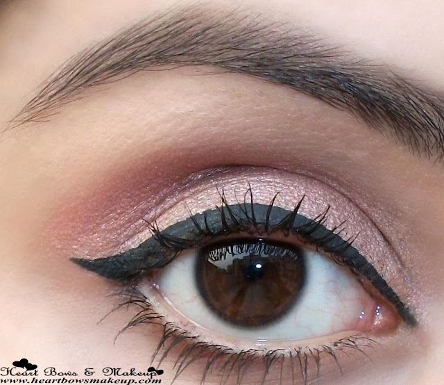 Lakme Absolute Shine Line Black Liquid Liner Review Swatches, Indian Eyemakeup