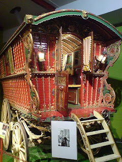 Picture of a Romanichal Brush vardo wagon
