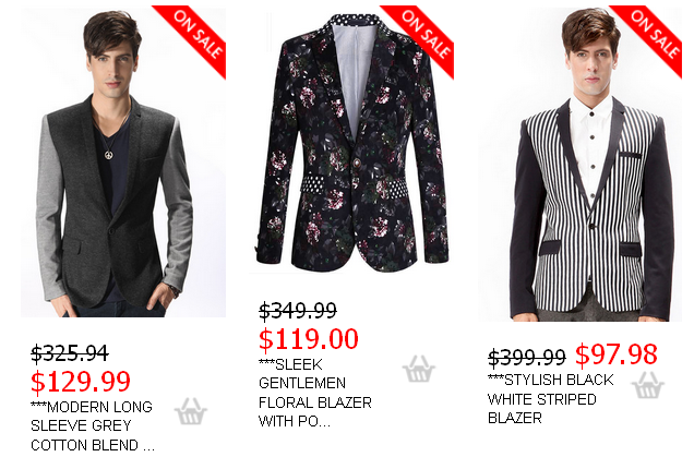 Slim Fit Blazers - A Menswear Essential: How Blazers With Floral ...