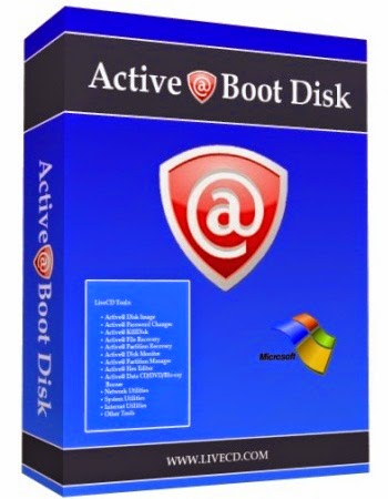 Active @ Boot Disk LiveCD 8.5.5 full version
