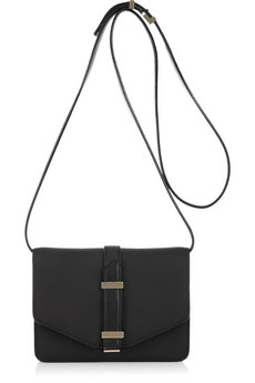 Victoria Beckham's mini textured leather satchel