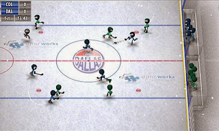 Screenshots of the Stickman Ice Hockey for Android tablet, phone.