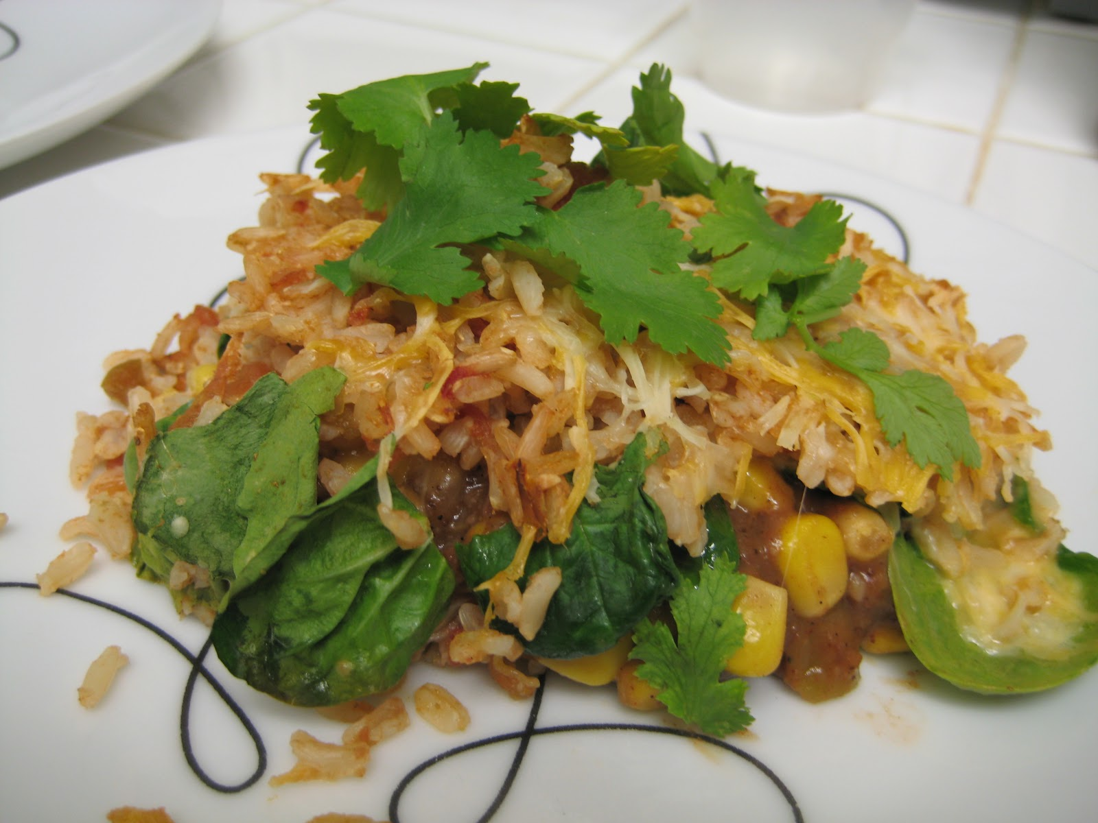 The Foodista Chronicles: Mexican Style Brown Rice Casserole
