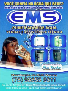 Purificador de água ( EMS )