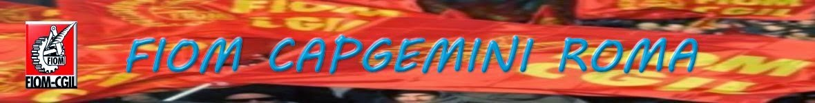 FIOM CAPGEMINI ROMA