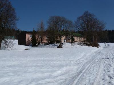 Hříběcí bouda v zimě