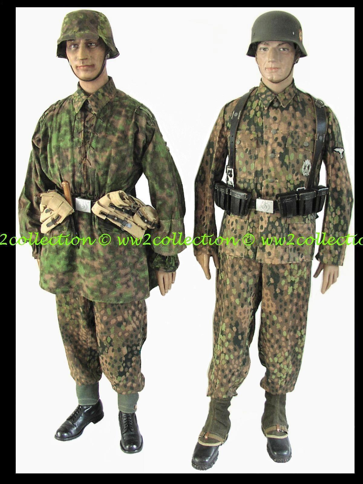 Helmets, Uniforms Waffen SS