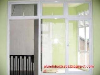 Kusen dan Pintu Aluminium depan