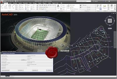 برنامج الهندسة لعمل الرسومات المعمارية والانشائية