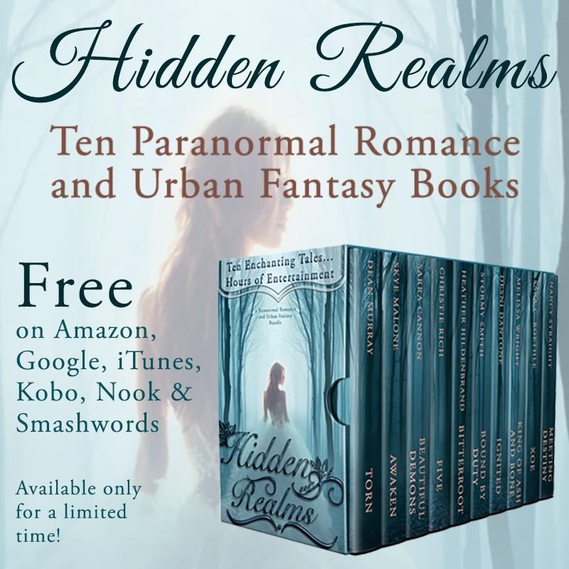 Hidden Realms A Paranormal Romance And Urban Fantasy Bundle
