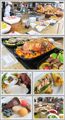 Delicious food spread at Thirty8, March 8 2015