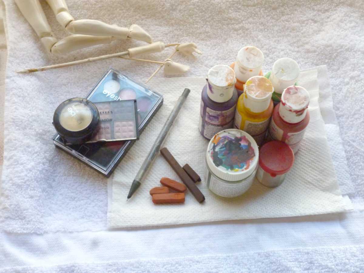 Como pintar una mu eca bjd de porcelana manualidades - Pintar sobre barniz ...