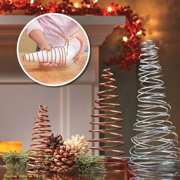 7 cách tự chế cây thông Giáng Sinh handmade