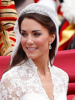 kate middleton wedding hairstyle. Kate Middleton was confident